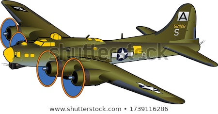 B-17 Stock photo © bertinova