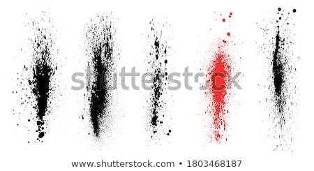 encre · blanc · noir · chambre · propre · texte · résumé - photo stock © nicemonkey