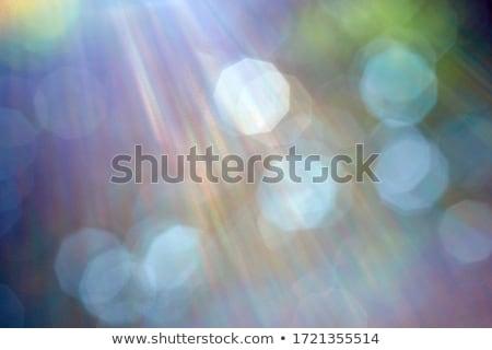 Beautiful colorful bokeh festive lights in kaleidoscope Stock photo © stevanovicigor