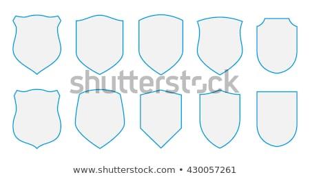Vecteur bras simple blanche cadre noir Photo stock © Mr_Vector