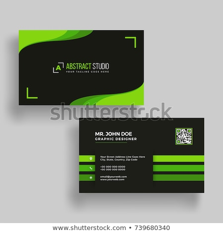 green business vector set stock photo © vipervxw