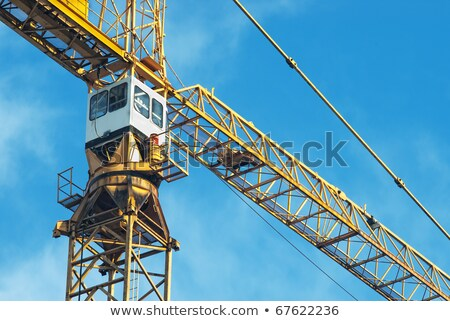 Tower crane, top, part  Stock photo © cherezoff