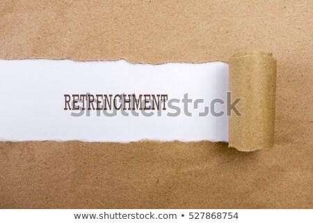 útil consejos papel rasgado texto detrás desgarrado Foto stock © ivelin