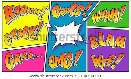 3D agrietado palabra texto ups Foto stock © nasirkhan