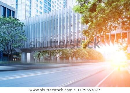 speed on modern road Stock photo © ssuaphoto