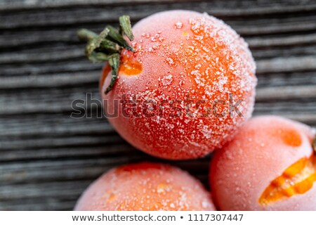 Ice · Cube · томатный · изолированный · белый · продовольствие · свет - Сток-фото © fotografiche