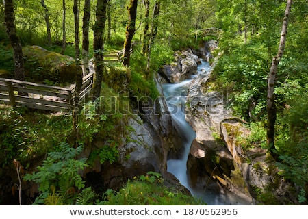 Alpine stream in France. Stock photo © rglinsky77