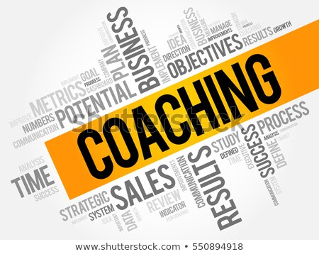 Stock photo: Coaching Definition