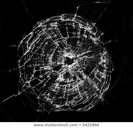 弾痕 · ショット · アルミ · ボード · パターン · 犯罪 - ストックフォト © bigalbaloo