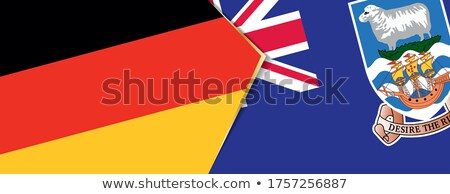 Germany and Falkland Islands Flags Stock photo © Istanbul2009
