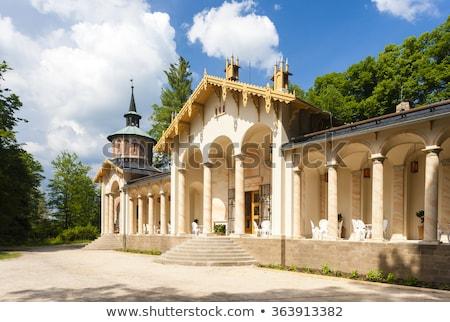 дворец замок Чешская республика здании путешествия архитектура Сток-фото © phbcz