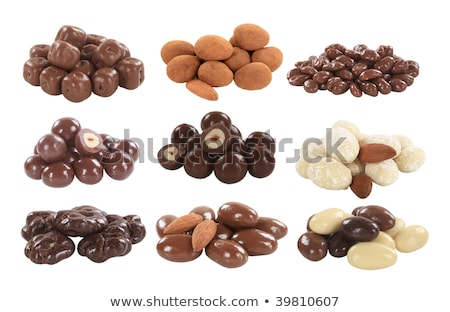 Dried fruit and chocolate covered nuts Stock photo © Digifoodstock