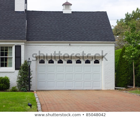 A building with an attached garage Stock photo © bluering