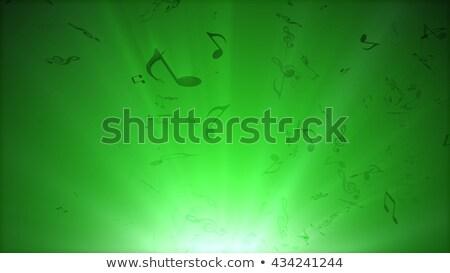 notas · musicais · azul · abstrato · funk · luzes · clube - foto stock © klss