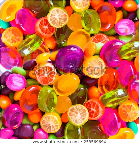 Vektor színes zselé válogatás fekete fény Stock fotó © freesoulproduction