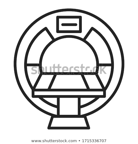 mri machine vector illustration clip art image stock photo © vectorworks51