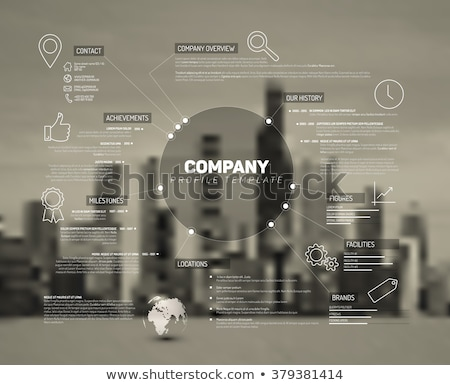 Brand concept schema diagram Stock photo © orson
