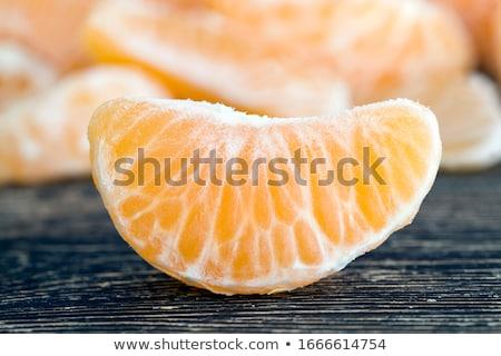 Close up of ripe fresh citrus fruits Stock photo © deandrobot