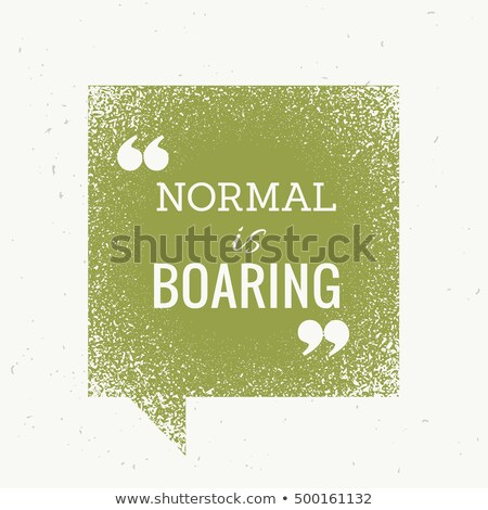 ノーマル 退屈な やる気を起こさせる 文字 緑 バブルチャット ストックフォト © SArts