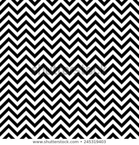 Pattern zig-zag classico vettore Foto d'archivio © fresh_5265954