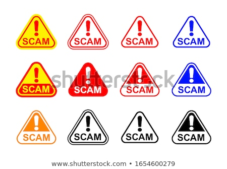 internet hacker warning sign concept Stock photo © alexmillos