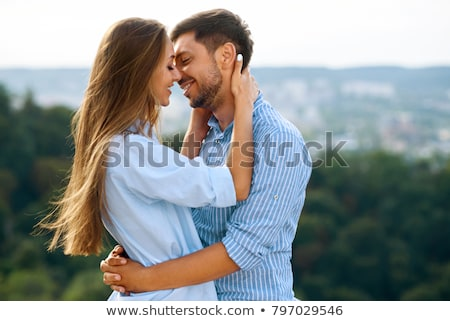 Romantic couple embracing each other Stock photo © wavebreak_media