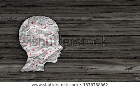 diagnoza · wirusa · muzyka · 3d · ilustracji · wydrukowane · niebieski - zdjęcia stock © tashatuvango