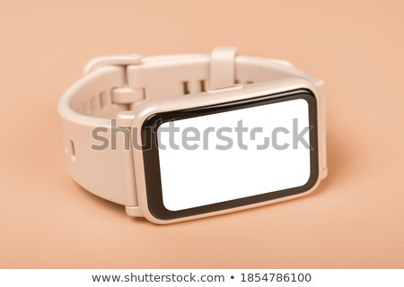 pantalla · frente · vista · negro · blanco · 3d - foto stock © make