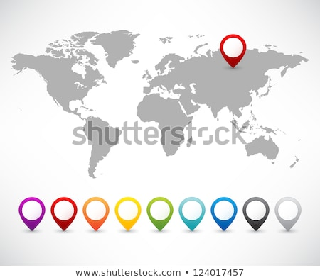 World Map Point Set stock photo © pikepicture