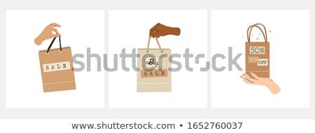 grande · venda · 3D · isolado · branco · fundo - foto stock © tashatuvango