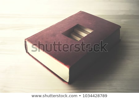 concept of reading discovering secrets stock photo © olena