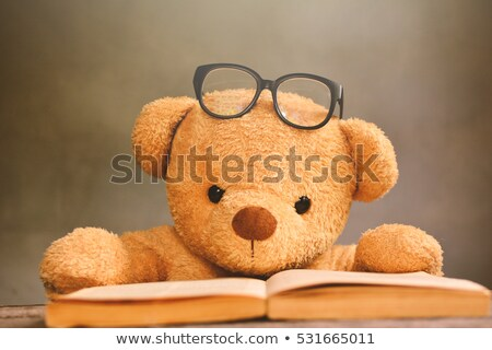 teddy bear with a book. Stock photo © Olena
