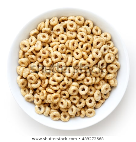 Stock photo: honey cereal rings