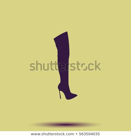 high boot sketch icon stock photo © rastudio