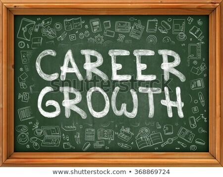карьеру · роста · изображение · бизнесмен · портфель · ходьбе - Сток-фото © tashatuvango