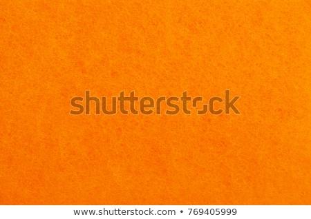 orange felt texture Stock photo © LightFieldStudios