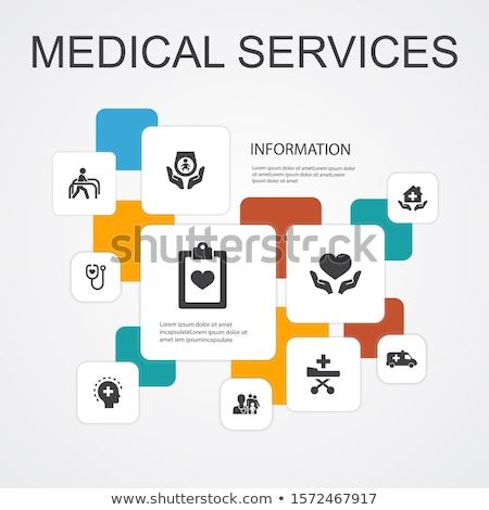 medical services infographics stock photo © -talex-