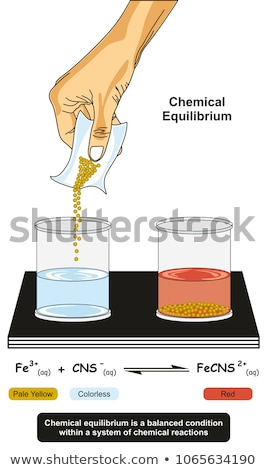 Diagram showing the changing states of matter Stock photo © bluering