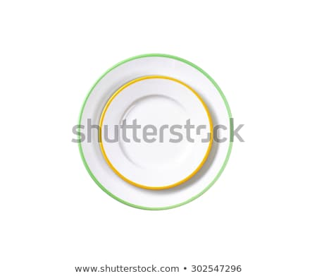 set of rimmed plates Stock photo © Digifoodstock