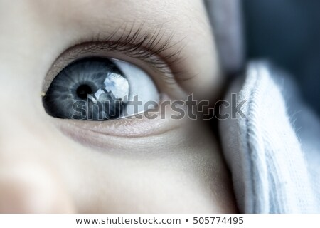 Close up of babys eyes stock photo © IS2