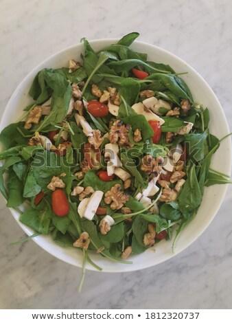 Bowl Of Refreshing Quinoa Salad Stock photo © mpessaris