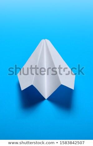 Luchtvaart Blauw globale business wereld Stockfoto © alexaldo
