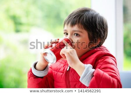 potable · sosa · ninos · adolescente · nino - foto stock © monkey_business