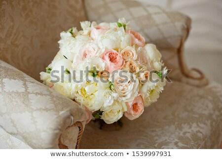 Stock fotó: Gyönyörű · virág · bézs · rózsaszín · lila · rózsák