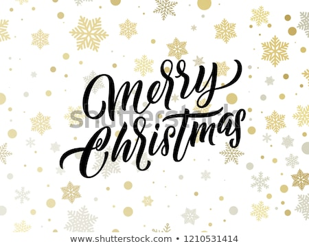 Stock fotó: Vidám · karácsony · illusztráció · fehér · díszítő · labda