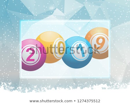 Lottery balls 2019 Stock photo © Oakozhan