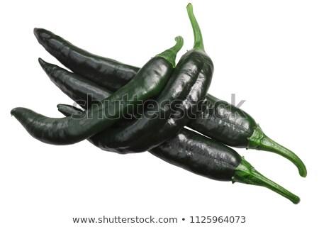 Gedroogd paprika Chili hot peper Mexicaanse Stockfoto © maxsol7
