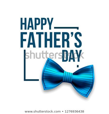 Gelukkig vader dag vector banner ontwerp Stockfoto © pikepicture