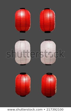Papel linterna Tokio templo Japón madera Foto stock © daboost
