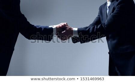 Japanese Businessmen Bow Stock photo © lenm
